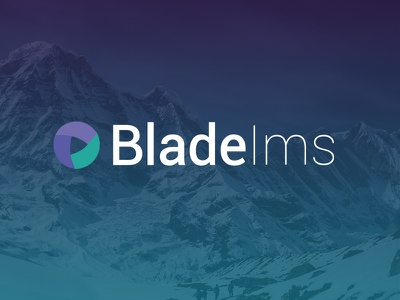 Rebranding of Blade Ims ui gradient simplicity rebrand logos design logo colours flat branding blade
