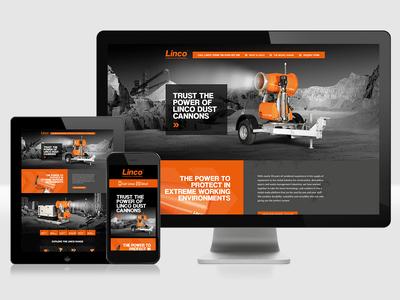 Linco - Single page website