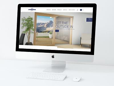 """Strommen Group"" internetinis puslapis ui doors windows strommen aliuslt"