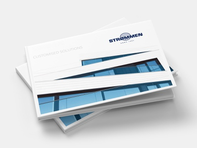 """""""Strommen"""" 2020 katalogo dizianas aliuslt catalog design clean branding design levinskas alius"""