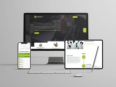 """ALKU"" internetinis puslapis branding ui ux web uiux cechas design levinskas alius"