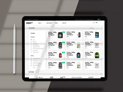 """Produktai sportui"" mobile dizainas sport branding web ui uiux design levinskas alius"