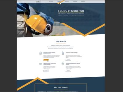 Revestus web page design process