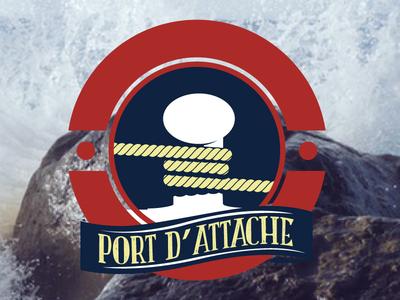 Logo Port D'Attache sea marine thil bretagne logo