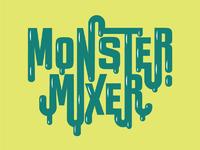 Monster mixer logo carlynixon