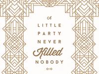 Great Gatsby Poster Refresh