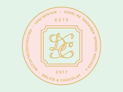 Delice & Chocolat Box Stickers
