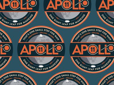 Apollo 11 - 50th Anniversary Stickers