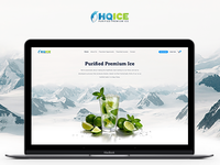 HQ Ice - Website Landing Page ⛄