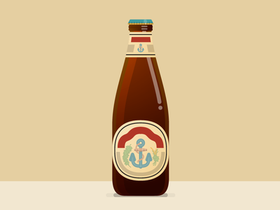Anchor Steam Favorite Thing vector beer