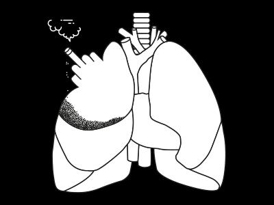 Negative ashes human heart negative black fuck smoke cigarette lung lungcancer cancer