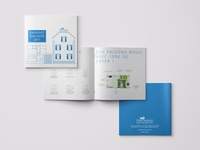 Pôle Habitat - Rapport d'activité brochure design brochure book square booklet report design report activity report
