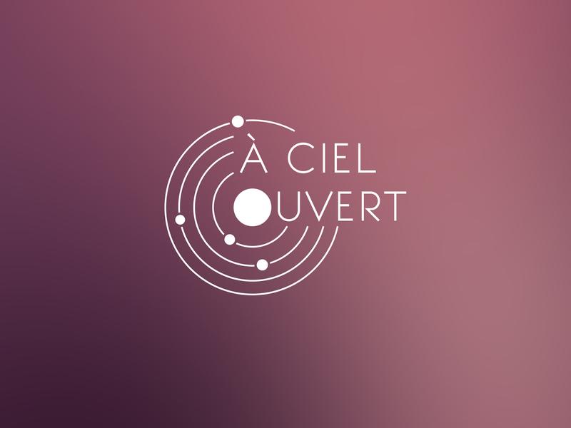 À Ciel Ouvert - Logo solar system planet astronomy sky logo channel youtube youtube channel