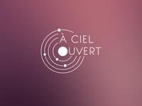 À Ciel Ouvert - Logo solar system planet astronomy sky logo channel youtube youtube channel