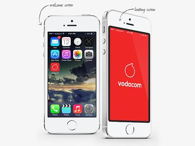 Vodacom iOS7 app Concept ios7 app apple vodacom iphone riyadh gordon south africa