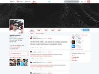 Social network twitter 2014