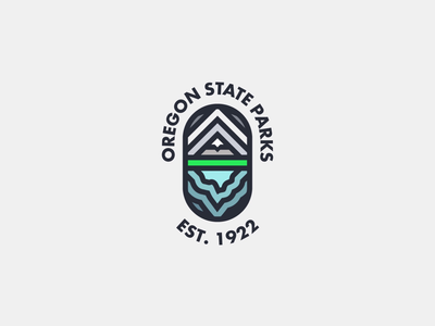 Oregon State Parks Badge