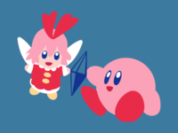 Kirby And Ribbon