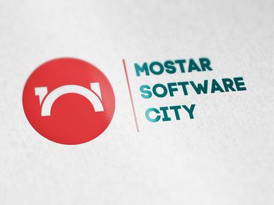 Mostar Software City Logo