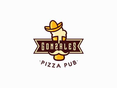 Pizza Pub Logo - Unused