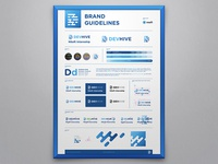 DevHive Brand Guidelines Poster
