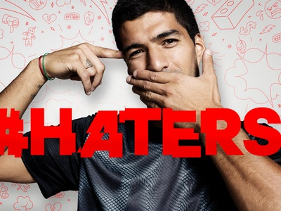 Adidas Football: There Will Be Haters art director direction design