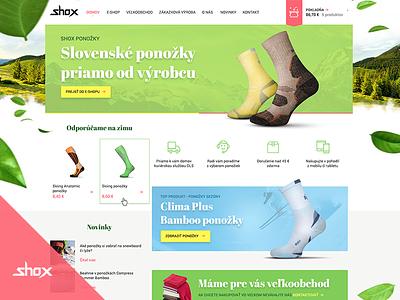 Shox E-shop outdoor mountains nature slovakia socks gregus michal studios finest web e-shop shox