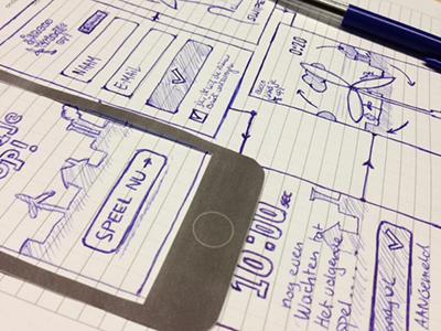 Wireframes sketch wireframe application html5 mobile sketch
