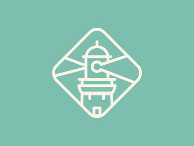 Lighthouse work in progress logodesign lighthouse branding logo