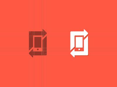 Logo for reusing mobiles