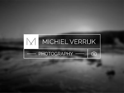 Michiel Verrijk branding larger logo branding design photography simple minimal