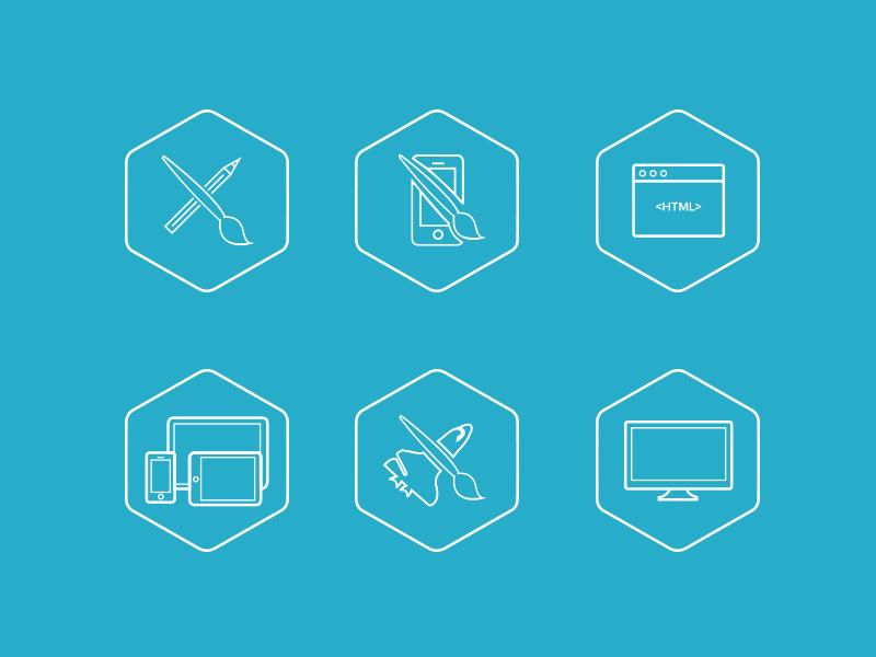 Icon set 'Skill' portfolio