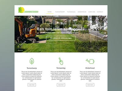 Ton Bouman Hoveniers Website WIP website gardening landscaping design
