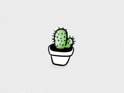 Happy Cactus drawing sketch illustration cactus