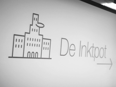"Meetingroom ""De inktpot"" photo meetingroom city places buildings monumental illustration icon"