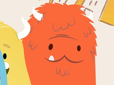 Monsters. monsters monster vector illustrator cartoon illustration character