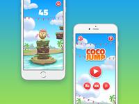 Coco jump - Game design