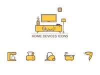 Home Devices Icons
