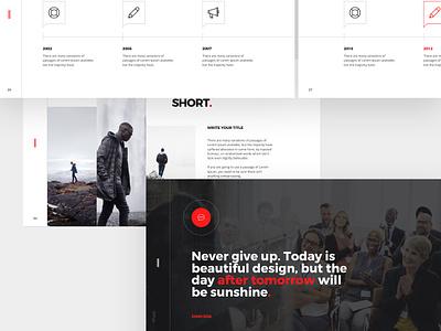Balance Free Minimal Powerpoint Keynote Template By Dublin Design On Dribbble
