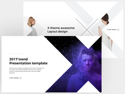 X free powerpoint keynote template by dublindesign dribbble x free powerpoint keynote template toneelgroepblik Choice Image