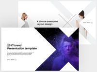 X - FREE POWERPOINT & KEYNOTE TEMPLATE