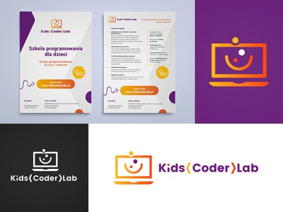 Kids Coder Lab Branding