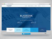 Blaszczuk Adwokaci Website