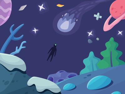 Cover cover magic world fantasy space illustration trinetix