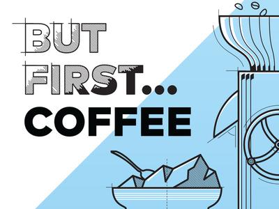Coffee zone cup coffee illustration trinetix