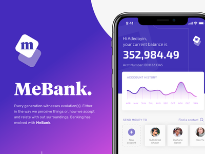 MeBank - UI Design ios purple modular sketch design systems clean interface app ux ui bank app finance app