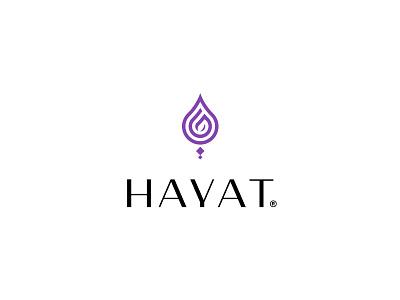 Hayat | Rebranding hayat typography brand identity design logo