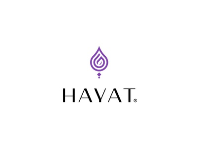 Hayat   Rebranding hayat typography brand identity design logo