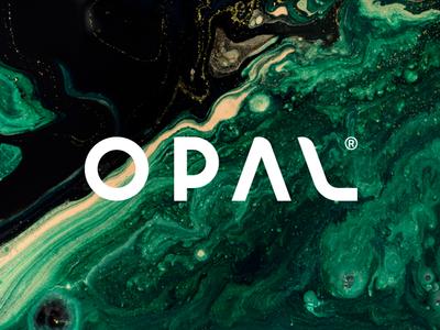 OPAL Business Complex design brand identity opal logo