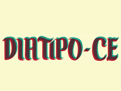 DiaTipo CE 2014 // type design event in Brazil